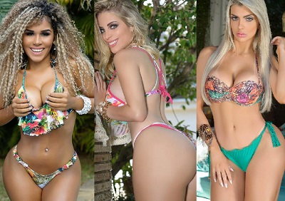 photos of brazilian bikini beauties