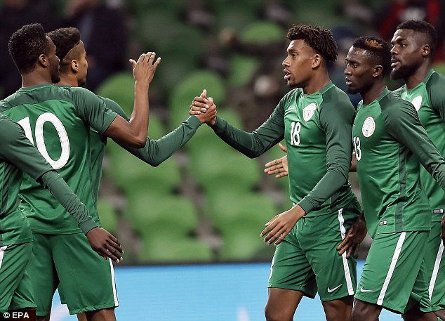 Nigeria to Play Argentina, Iceland In 2018 World Cup's Group Stage