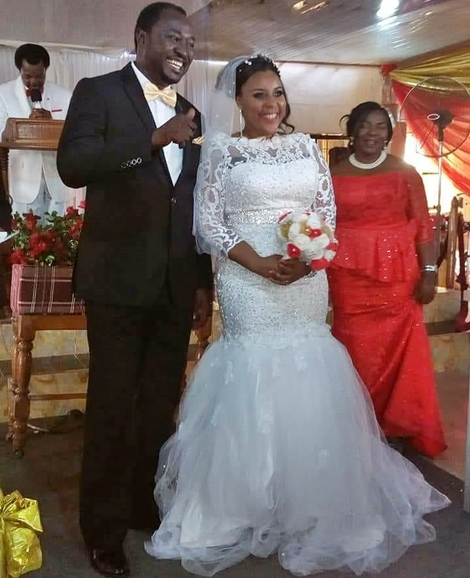 Years After Her Marriage to Pastor Soul E Crashed, Singer Queen Ure Marries Another Pastor (Photos)