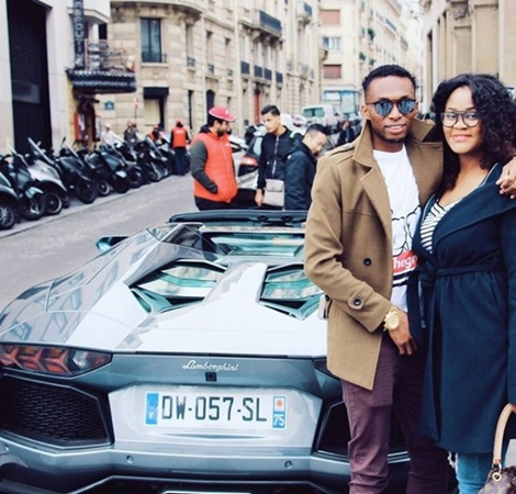 Christmas Comes Early! Footballer Uche Kalu Buys Range Rover for His Wife as Xmas Gift (Photos)