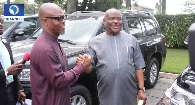 Photos of 16 SUVs Governor Nyesom Wike Gave to National Assembly Members from Rivers State