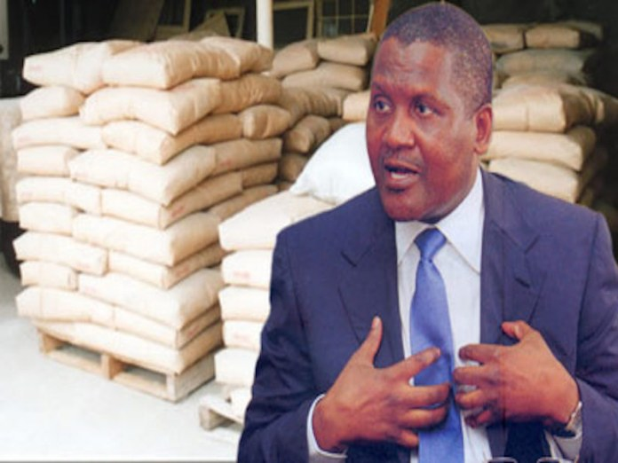 Dangote Crashes Price of Cement for Online Customers as It Partners Jumia on Sales