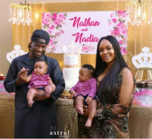 Anita Okoye, the wife of P-square's Paul Okoye, has opened up on how she suffered several miscarriages before giving birth to twins.