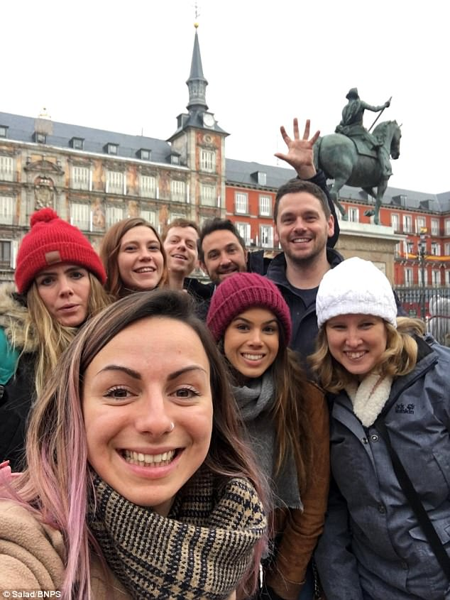 Woman Takes All 20 of Her Staff to Madrid as a Christmas Treat (Photos)