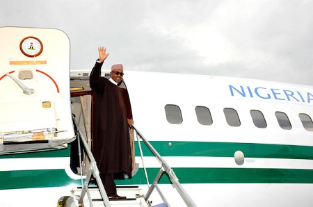 President Buhari Travels To Paris For 'One Planet Summit'