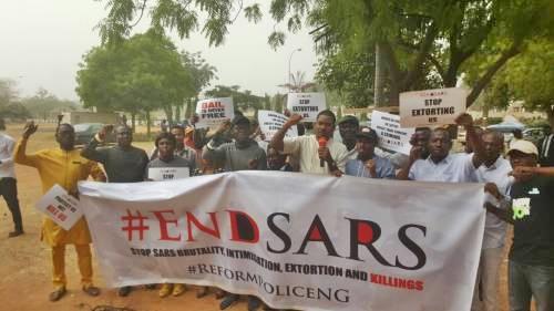 #EndSARS Rally Commences as Protesters Give IG of Police 21 Days...Here are Their Demands