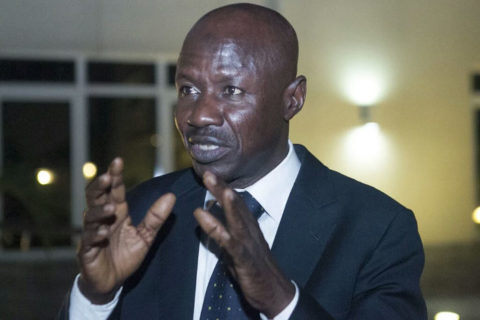 EFCC Chairman Magu Escapes Death After Gunmen Invaded His House Killing a Police Sergeant