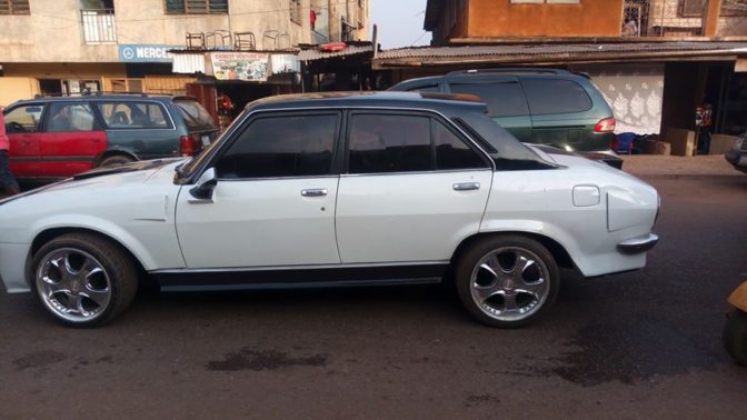 See How Nigerian Man Transformed Old and Abandoned Peugeot 504 Car to Look Totally Incredible (Photos)