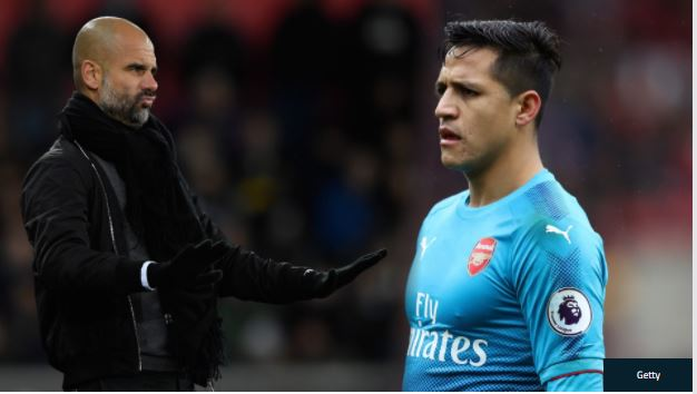 Manchester City's Move for Sanchez Suffers Fresh Setback