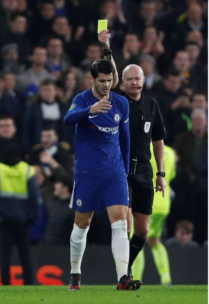 EPL: Chelsea`s Morata Suspended for Everton Clash, Conte Reacts