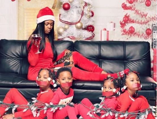 Everyone Is Talking About This Woman Who Tied Up Her Children In Viral Christmas Photo
