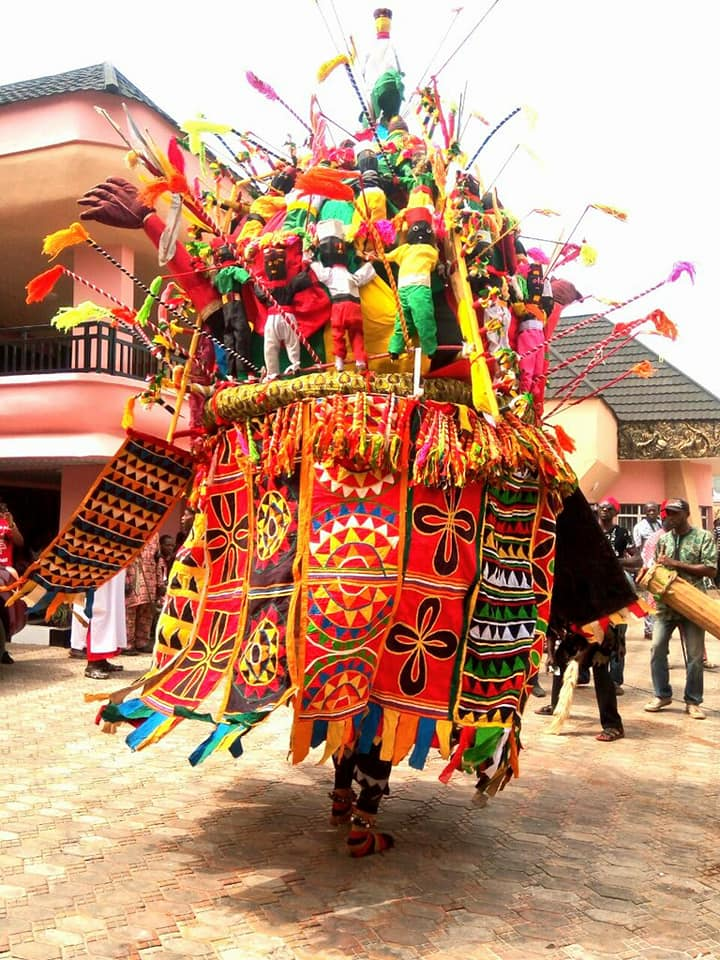 'Biggest Masquarede' in Anambra Appears as Last Ofala Festival is Celebrated in Honour of Late Igwe Godfrey (Photos)