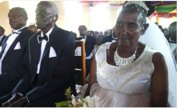 83-Year-Old Ugandan Woman Weds 90-Year-Old Man in Style (Photos)