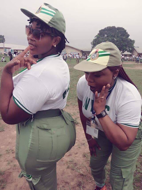 Image result for Female Corpers  with the biggest butt