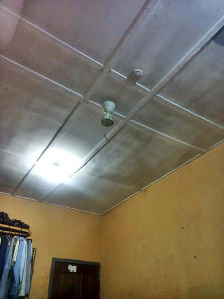 Final year student almost killed after ceiling fan fell off while he hesavedme reignerscollapsepart2averted m2collapsefoiled gratefullyhis aloadofball Gallery