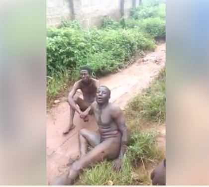 Male, Thieves, Naked, Edo State,