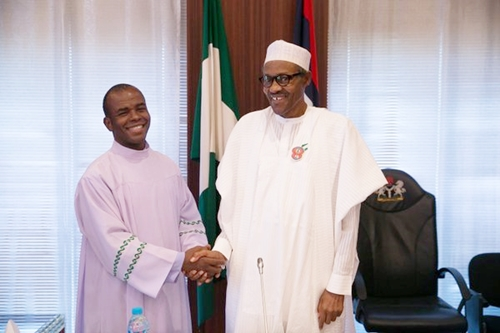 I Hear a Cry Like Rain from Aso Rock – Fr Mbaka