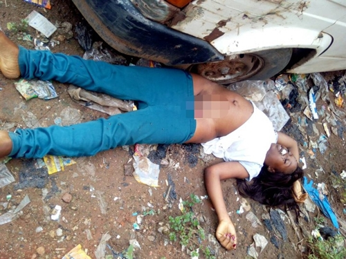 Victim of Ritualists? Lady's Corpse Dumped by the Roadside ...