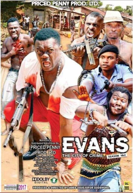 Hilarious: Nollywood Drops Banging Movie on Evans, the Kidnapper (Photo)