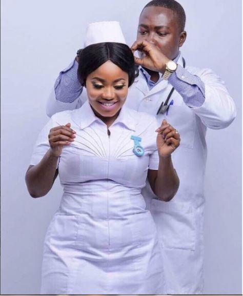 Check out the Pre-Wedding Photos of a Doctor and a Nurse