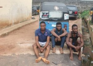 Notorious Robbers Who Rob Women During Early Morning Jogging Arrested in Imo (Photos)