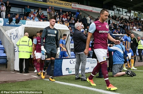 John Terry Makes His Aston Villa Debut As He Plays In Pre-Season Friendly
