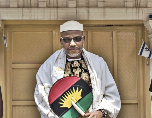 How IPOB Leader, Nnamdi Kanu was 'Chased' from Palace of Popular Anambra Monarch