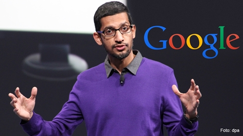 Hello from Lagos! Google's CEO, Pichai Visits Computer Village as He Arrives Nigeria (Photo)