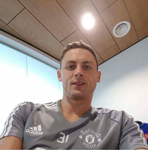 Chelsea Star, Matic Nears Manchester Switch as He Wears United Kit After Undergoing Medicals (Photos)