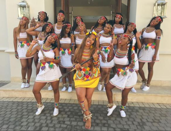 So Beautiful! Zulu Bride and Her Bridesmaids Show Off