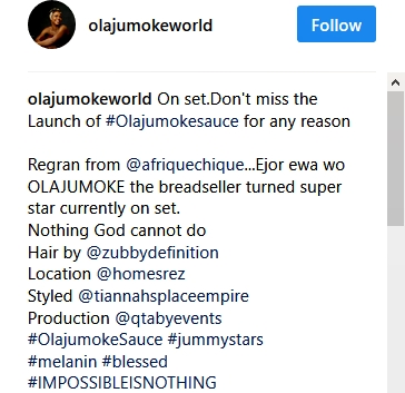 Olajumoke Looks Unrecognizable as She Channels Yemi Alade's Look in Stunning New Photos 3