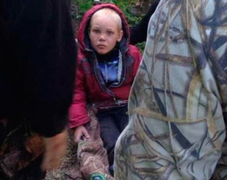 4-year-old boy Missing for 4 Days Found Alive in Forest Inhabited by Wild Animals (Photos)