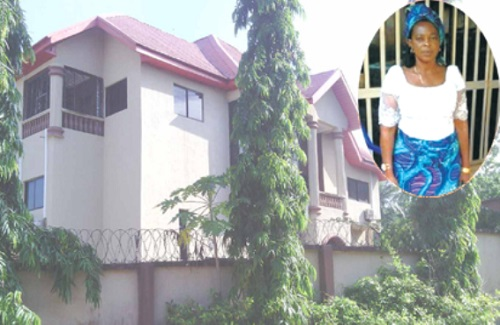 See the Multi Million-Naira House Notorious Kidnapper, Evans Built for His Mother (Photos)