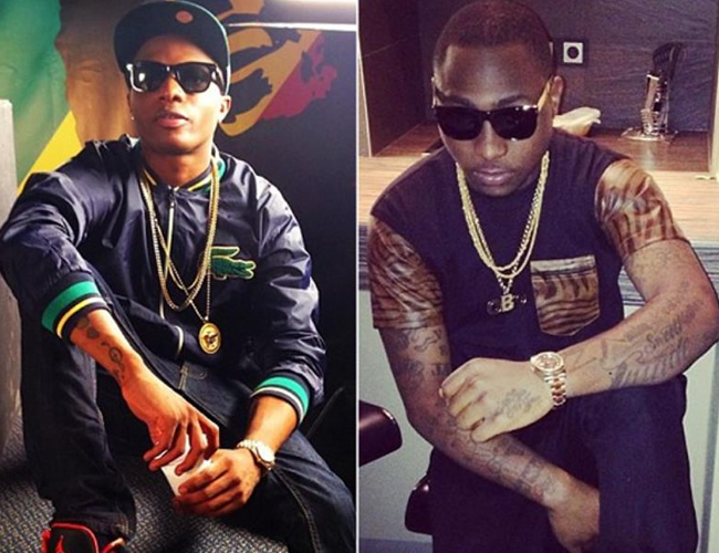 Wizkid and Davido in Bitter Social Media War Over Who is the Greatest
