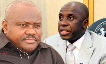 Amaechi's Wife Collected 'Illegal' N3 million Monthly From All Commissioners and LG Chairmen During Her Husband's Tenure - Wike Reveals