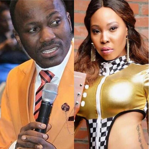Apostle Suleman Pregnant Canada Based Girlfriend Demands: I Have Seen Your N*kedness