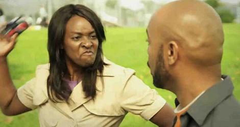 my wife slapped me