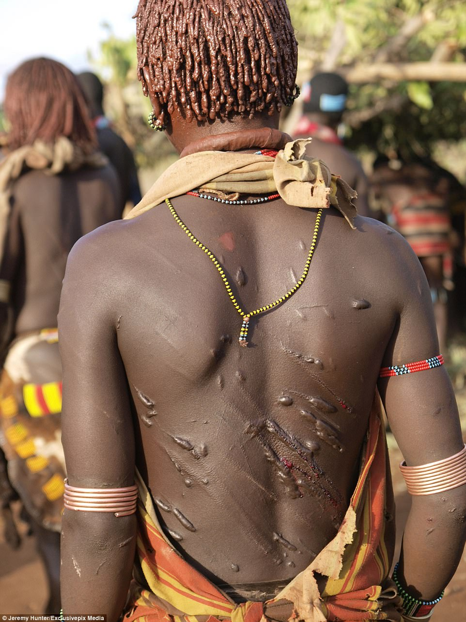 See the Country Where Women are Flogged Mercilessly in Order to Show That They Love Their Men (Photos) 7