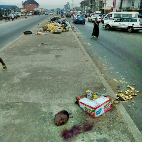 Lifeless Body Of A Beheaded Man Found In Gutter And His