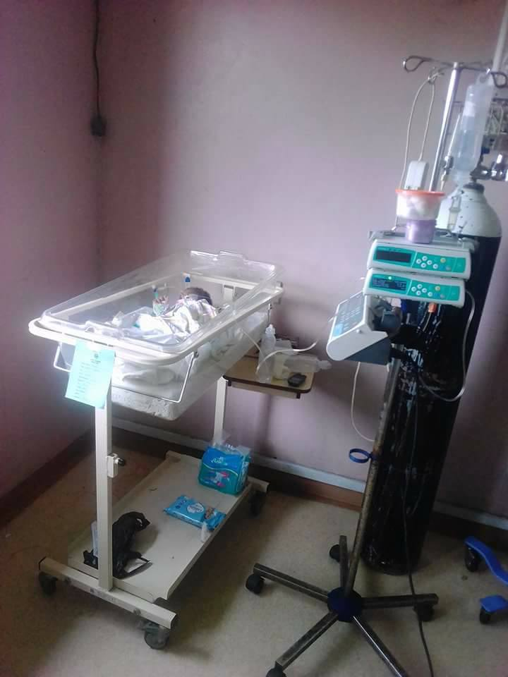 Woman Give Birth to a Baby Without Anus In Delta State (Photos)