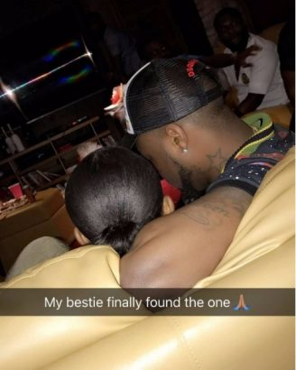 Davido Makes Out With Mystery Busty Lady in Ghana (Video)
