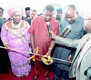 Pastor Adeboye, Osinbajo Opens 10,000 Capacity Ecumenical Centre in Yenagoa