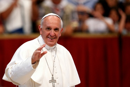 Excitement as Pope Francis Requests Roman Catholic Priests Be Given The Right to Get Married
