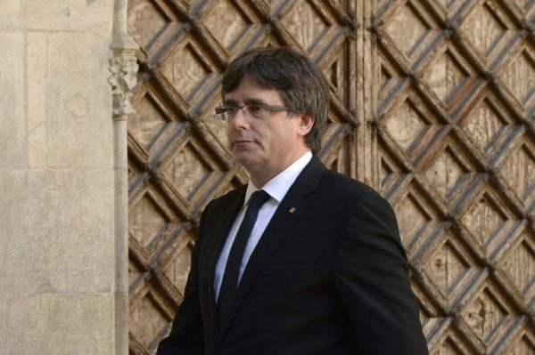 After Surrendering to Belgian Police, See What Happened to Catalan Leader, Carles Puigdemont