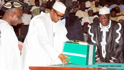 Breakdown of 2018 Budget Estimates Presented by President Buhari