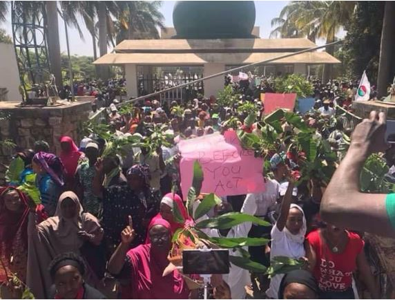 Sacked Teachers: NLC, NUT Shock El-Rufai with Massive Protest