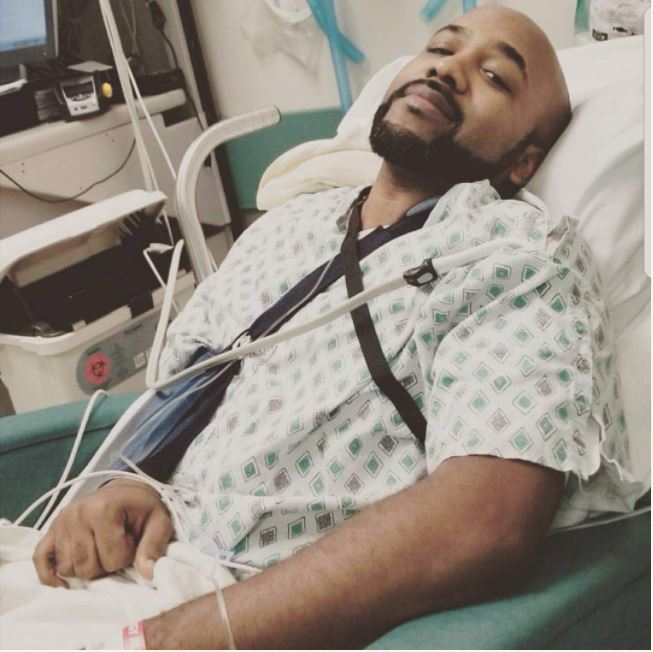 Banky W Undergoes Surgery For Skin Cancer Tumours, See Hospital Photos