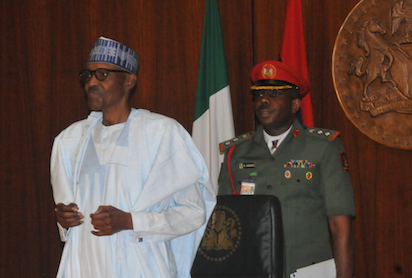 President Buhari and Christian Leaders Meet In Aso Rock