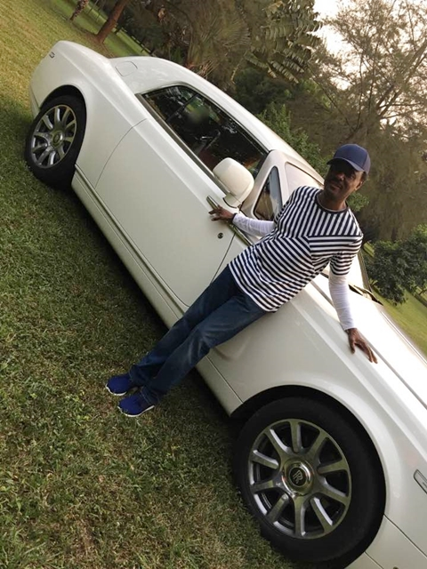 Photos:Pastor Chris Okotie Displays His Luxurious Roll Royce on His Golf Course