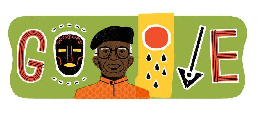 Google Doodle Honours Nigeria's Chinua Achebe (Photo)